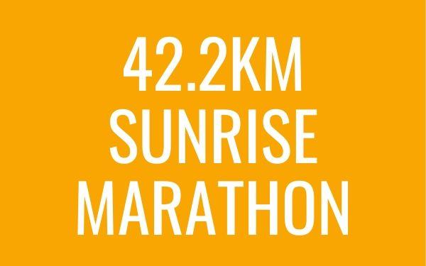 42.2km Sunrise Marathon